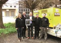 Selwood's distributors DMTP with award