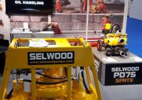 The Selwood P75 on display at Interspill