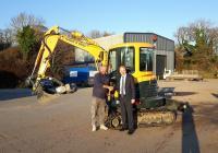 Plant hire Hampshire rental excavator