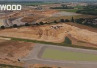 Drone footage of Selwood at work on the A14 road project