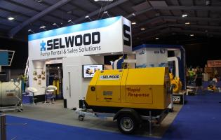 Selwood S150SC on display at Pump Centre 2017 in Telford