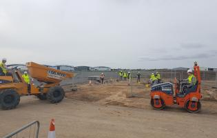 Selwood has donated plant equipment for a training programme at the Civil Engineering Training Centre at HMS Daedalus in Hampshire