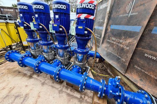 Lambley booster pump