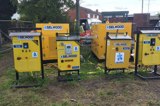 Selwood pumping project at Brent Knoll