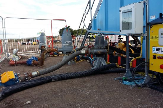 Selwood pumping solution at Combwich