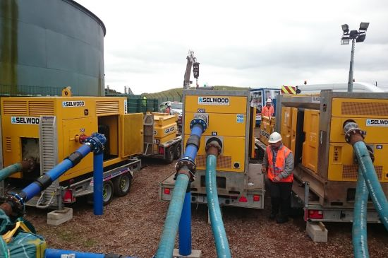 High Head pumps ensure secure water supply for thousands of homes and businesses