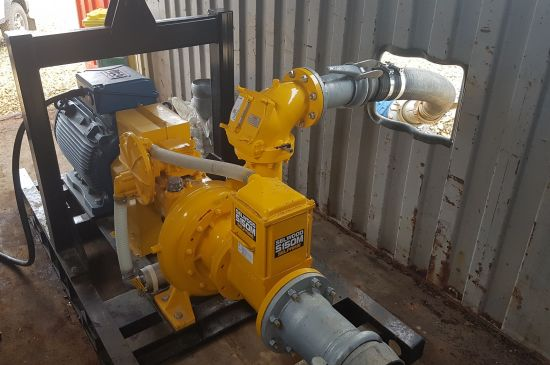 Solids handling pump provides robust solution for aggregates company