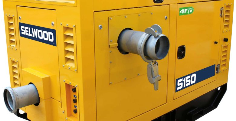 Yellow Vortex Pump
