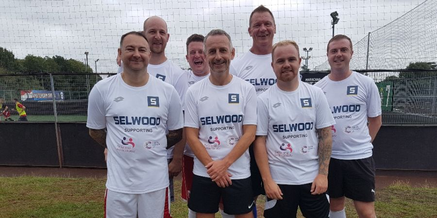 The team from Selwood who took part in the Waste Water Cup 2018