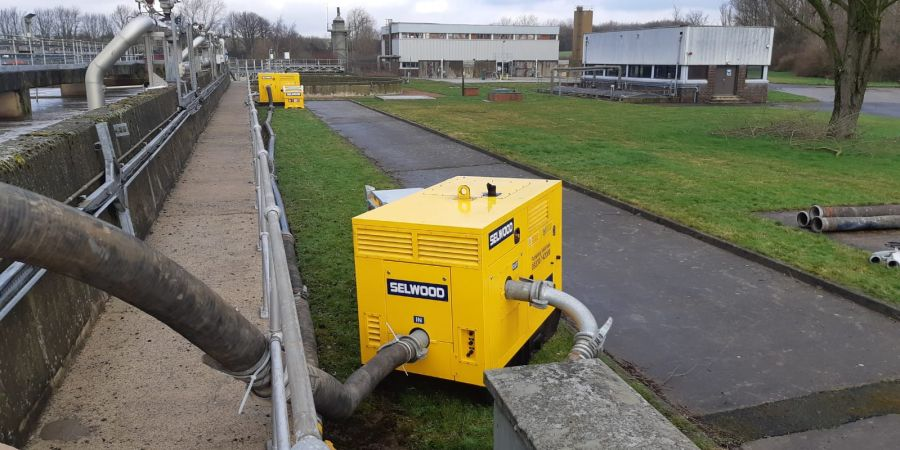 Selwood has won an exclusive pump rental contract with Northumbrian Water