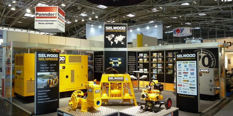 Selwood stand at IFAT 2016