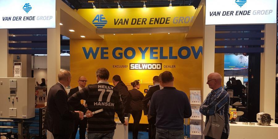 The partnership of Selwood and Van Der Ende Group was announced at the Aqua Nederland Vakbeurs Gorinchem 2018