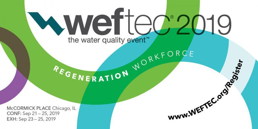 WEFTEC 2019